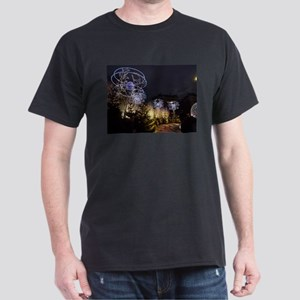 Paris Holiday Lights Christmas Market Cham T-Shirt