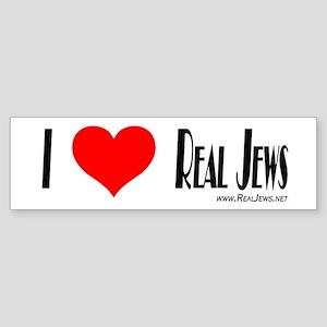Real Jews Bumper Sticker Bumper Sticker