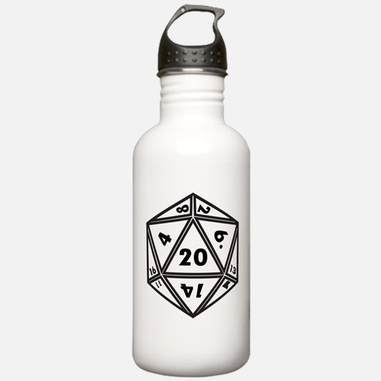 D20 White Water Bottle
