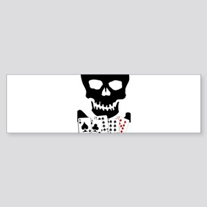 Aces and Eights Bumper Sticker