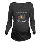 Xylophone Wizard Long Sleeve Maternity T-Shirt