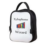 Xylophone Wizard Neoprene Lunch Bag