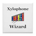 Xylophone Wizard Tile Coaster