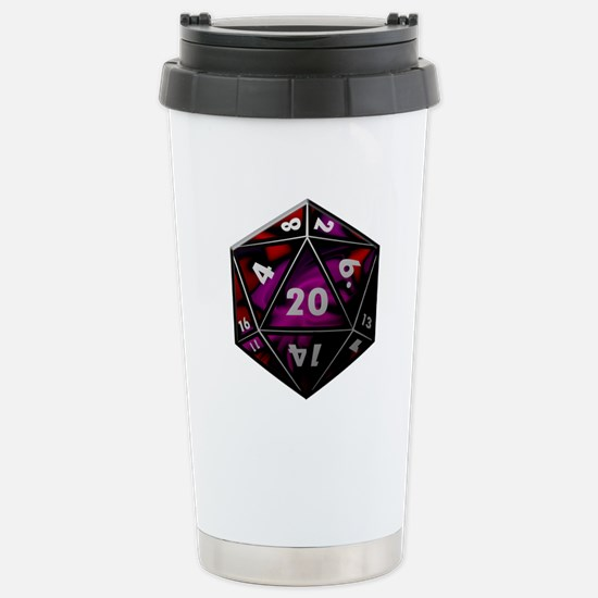 D20 color Travel Mug