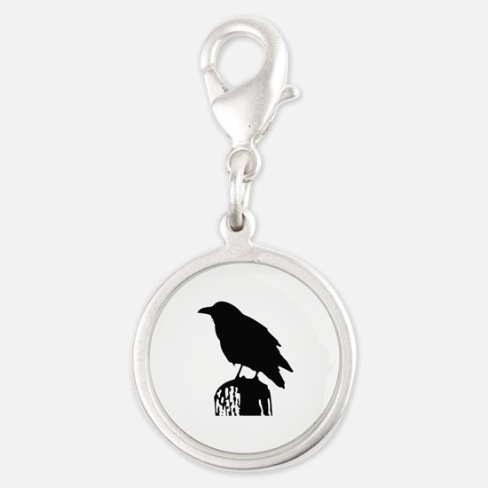 RAVEN SILHOUETTE Charms