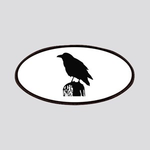 RAVEN SILHOUETTE Patches