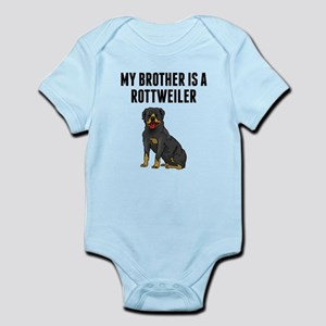 My Brother Is A Rottweiler Body Suit