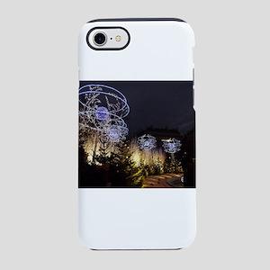 Paris Holiday Lights Christmas iPhone 7 Tough Case
