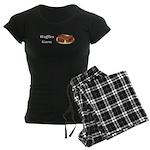 Waffles Guru Women's Dark Pajamas