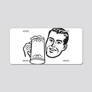 Beer guy Aluminum License Plate