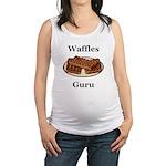 Waffles Guru Maternity Tank Top