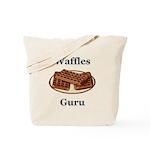 Waffles Guru Tote Bag