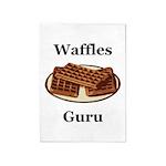 Waffles Guru 5'x7'Area Rug