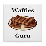 Waffles Guru Tile Coaster