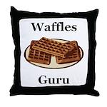 Waffles Guru Throw Pillow