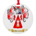 Hinken Round Ornament