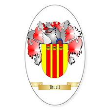 Hurll Sticker (Oval)