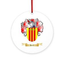 Hurll Ornament (Round)