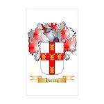 Hurling Sticker (Rectangle 50 pk)