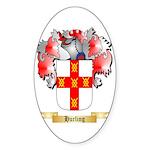 Hurling Sticker (Oval 10 pk)