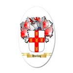 Hurling 20x12 Oval Wall Decal