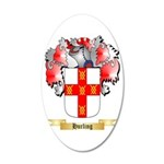 Hurling 35x21 Oval Wall Decal
