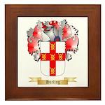Hurling Framed Tile