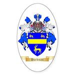 Hurdman Sticker (Oval)