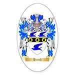 Hurch Sticker (Oval 10 pk)