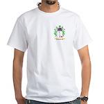 Huonic White T-Shirt