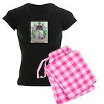 Huonic Women's Dark Pajamas