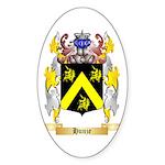 Hunze Sticker (Oval 50 pk)