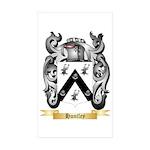 Huntley Sticker (Rectangle 50 pk)