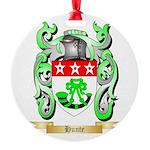 Hunte Round Ornament