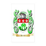 Hunte Sticker (Rectangle 50 pk)