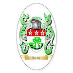 Hunte Sticker (Oval)