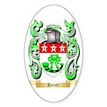 Hunte Sticker (Oval 50 pk)