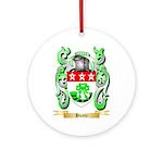 Hunte Ornament (Round)
