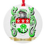 Hunt Round Ornament