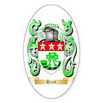 Hunt Sticker (Oval 50 pk)
