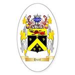 Hunt (Irish) Sticker (Oval 10 pk)