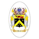 Hunt (Irish) Sticker (Oval 50 pk)