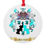 Hunibun Round Ornament