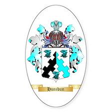 Hunibun Sticker (Oval)