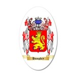 Humphry 35x21 Oval Wall Decal