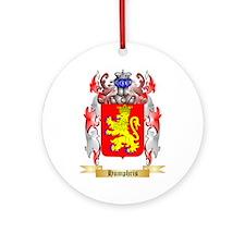 Humphris Ornament (Round)