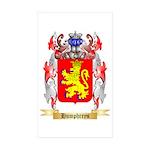 Humphreys Sticker (Rectangle 50 pk)