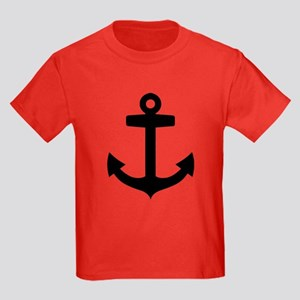 Anchor ship Kids Dark T-Shirt