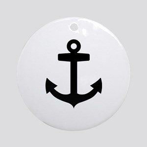 Anchor ship Ornament (Round)