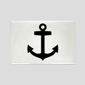 Anchor ship Rectangle Magnet